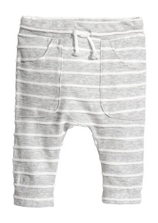 H&M H & M - Jersey Pants with Pockets - Gray
