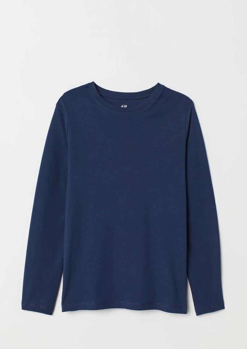 H&M H & M - Jersey Shirt - Blue