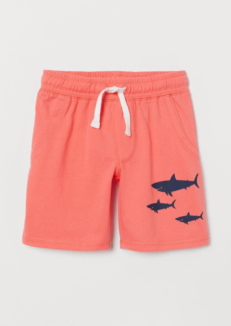 H&M H & M - Jersey Shorts - Red