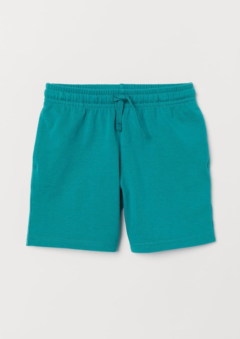 H&M H & M - Jersey Shorts - Turquoise