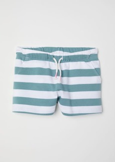 H&M H & M - Jersey Shorts - White