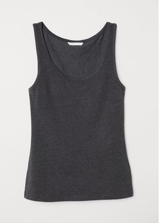 H&M H & M - Jersey Tank Top - Gray