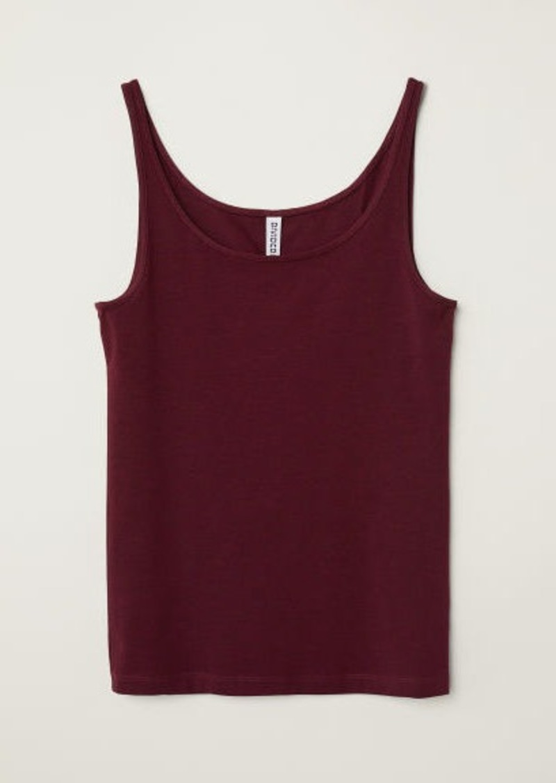 H&M H & M - Jersey Tank Top - Pink