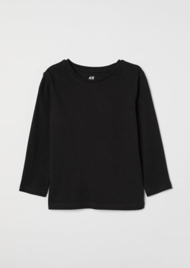 H&M H & M - Jersey Shirt - Black