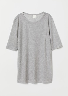 H&M H & M - Jersey Top - Gray
