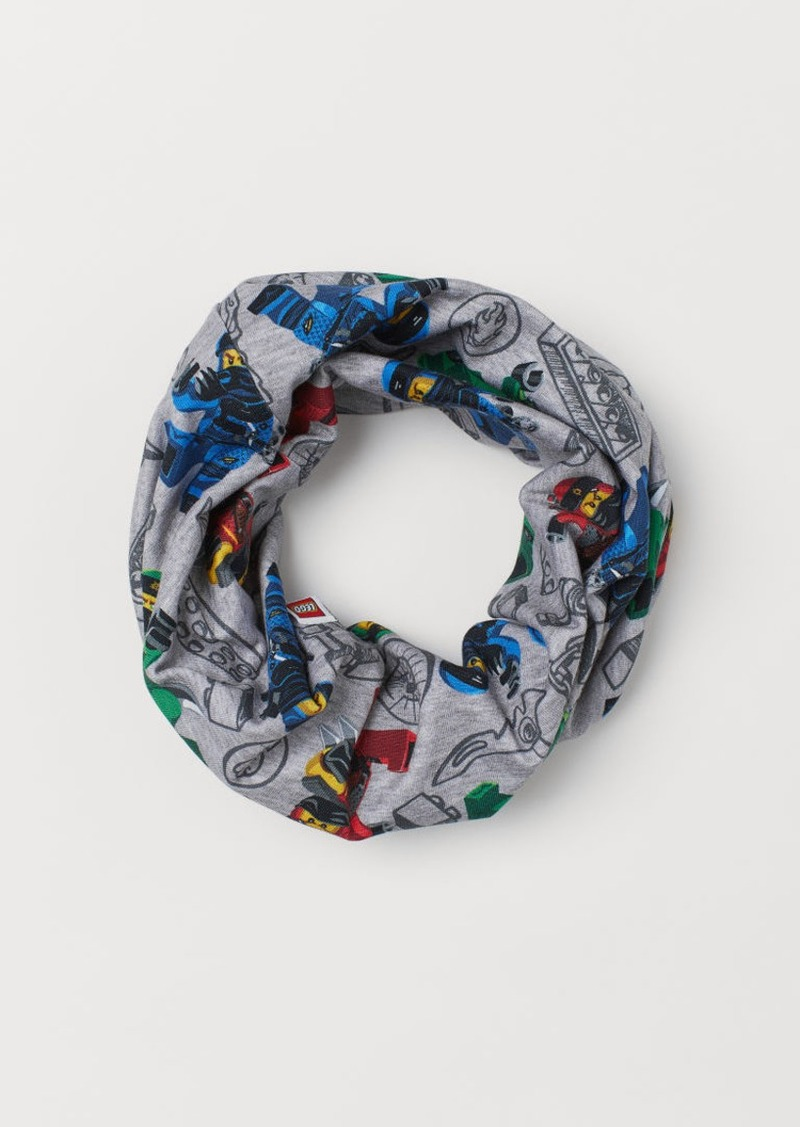 H&M H & M - Jersey Tube Scarf - Gray