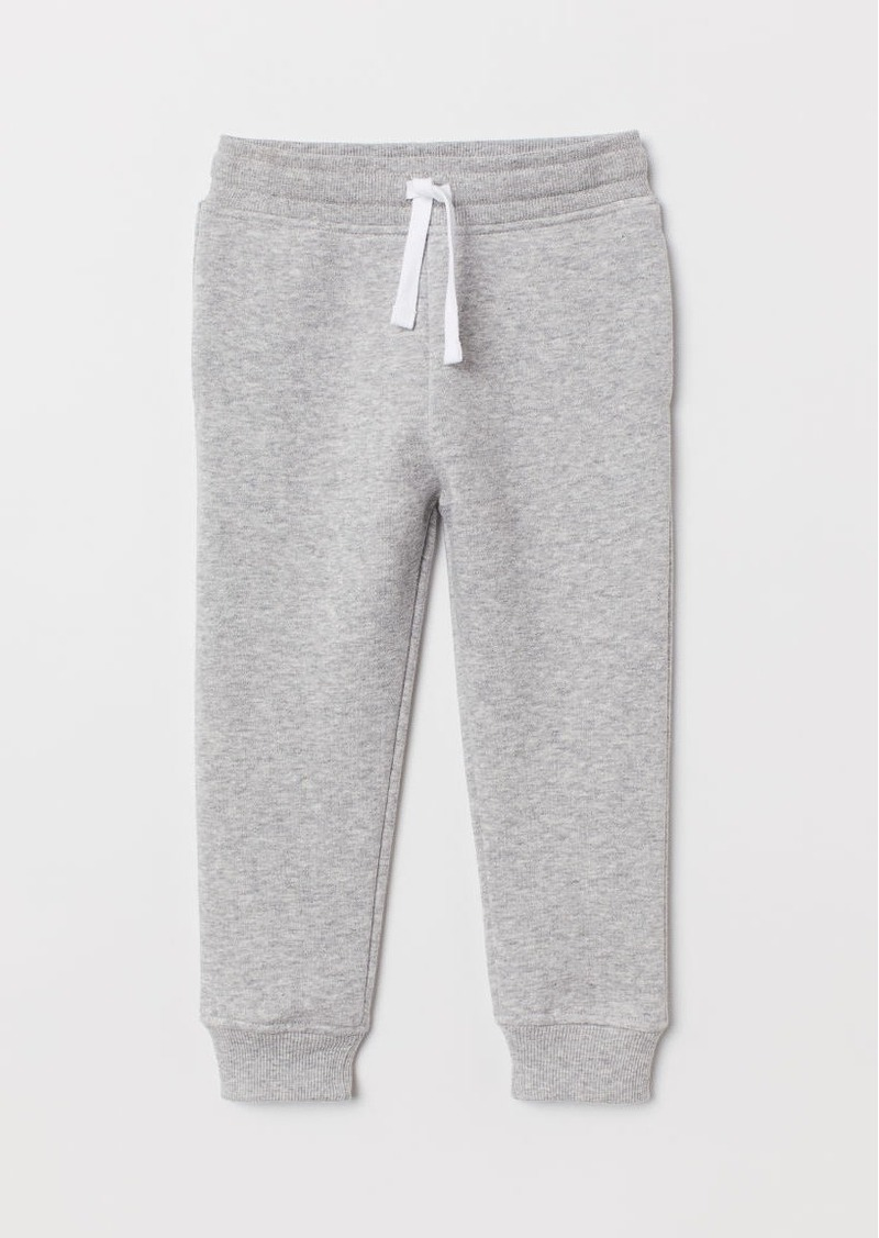 H&M H & M - Cotton-blend Joggers - Gray