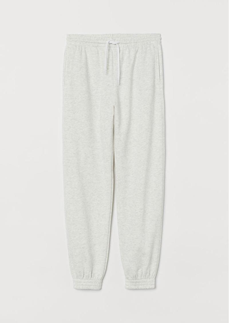 H & M - Joggers High Waist - Gray