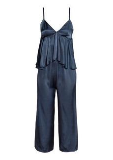 H&M H & M - Jumpsuit with Flounce - Blue