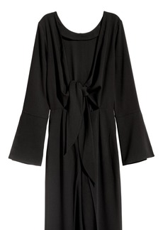 H&M H & M - Jumpsuit with Ties - Black