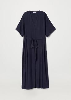 H&M H & M - Kaftan Dress - Blue