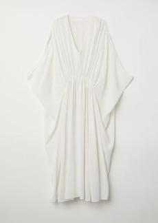 H&M H & M - Kaftan Dress - White
