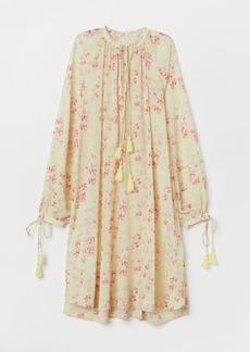 H&M H & M - Kaftan Dress - Yellow