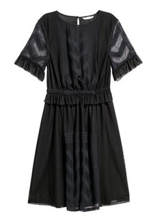 H&M H & M - Knee-length Dress - Black