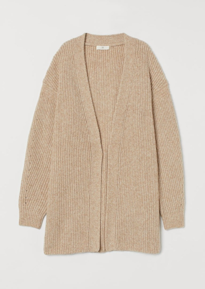 H&M H & M - Knit Cardigan - Beige