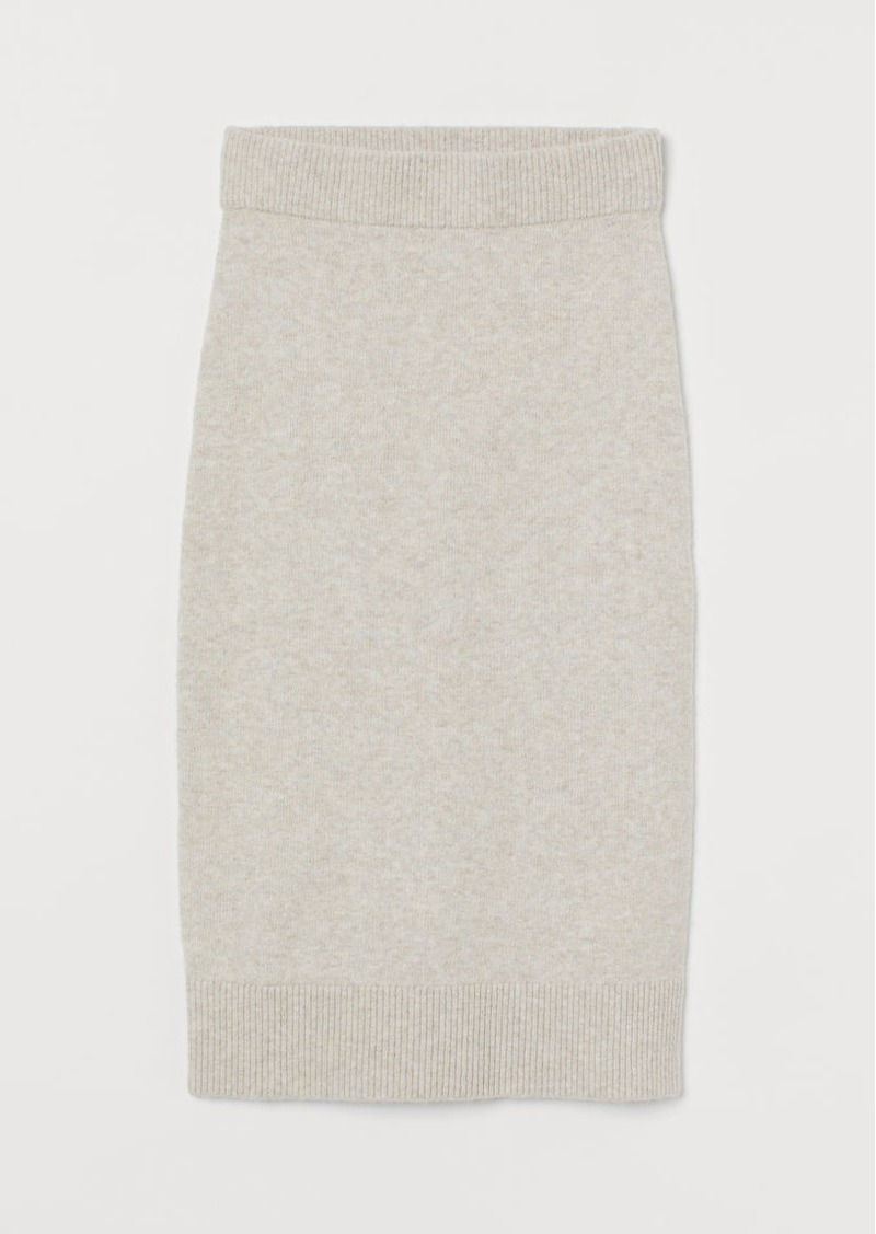 H&M H & M - Knit Skirt - Brown