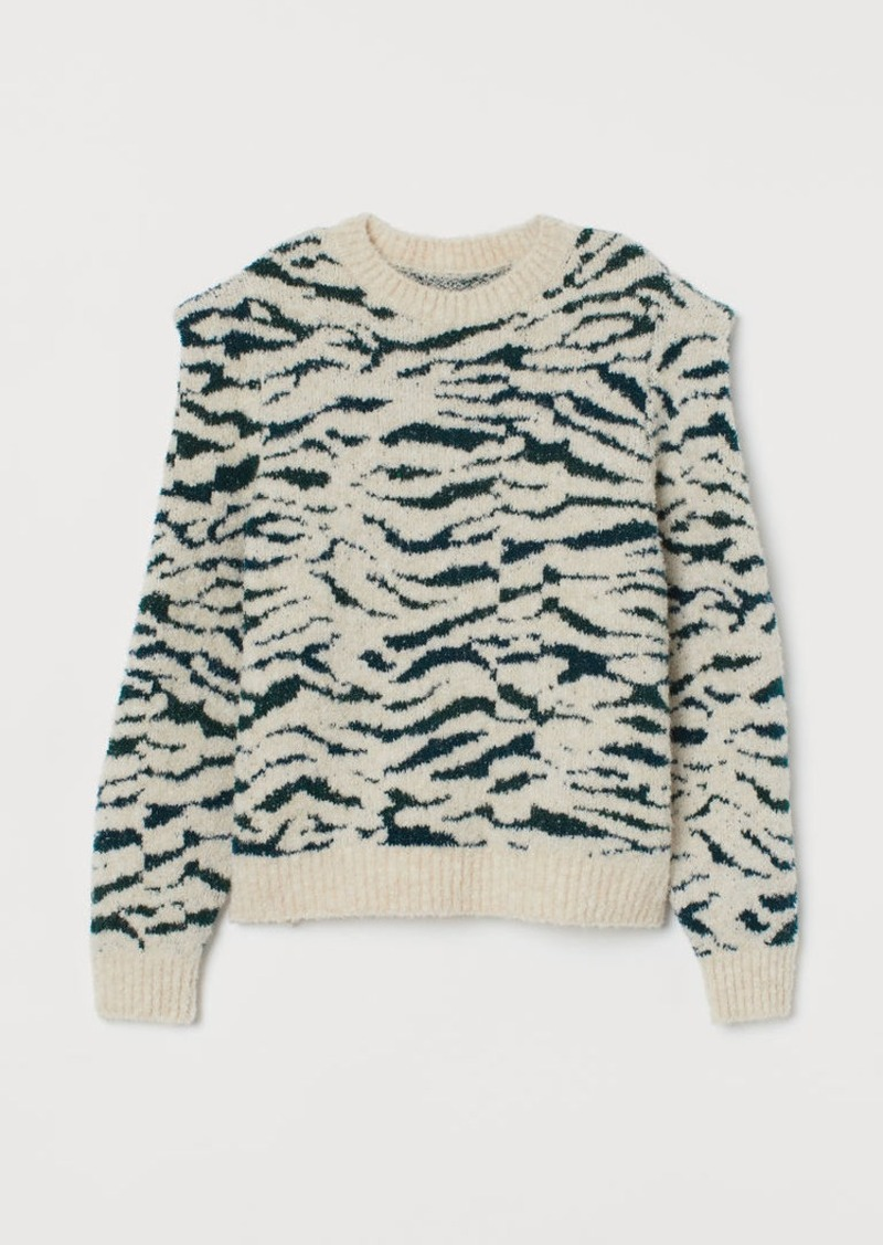 H&M H & M - Knit Sweater - Beige