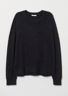 H&M H & M - Knit Sweater - Black