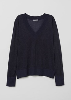 H&M H & M - Knit Sweater - Blue