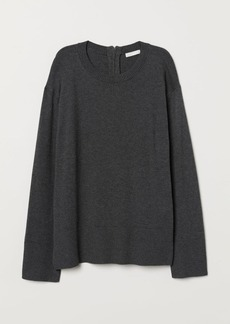 H&M H & M - Knit Sweater - Gray
