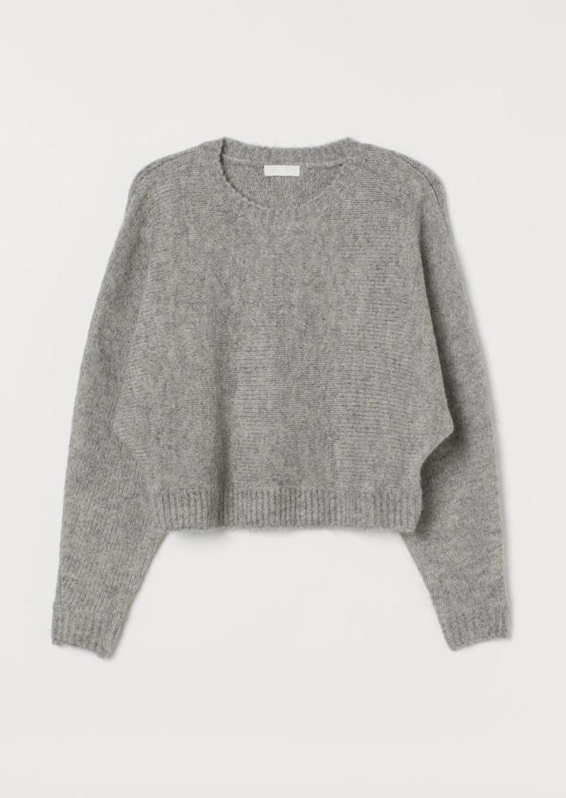 H&M H & M - Knit Sweater - Gray