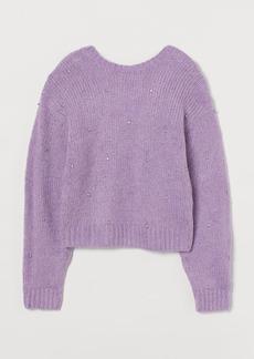 H&M H & M - Knit Sweater - Purple