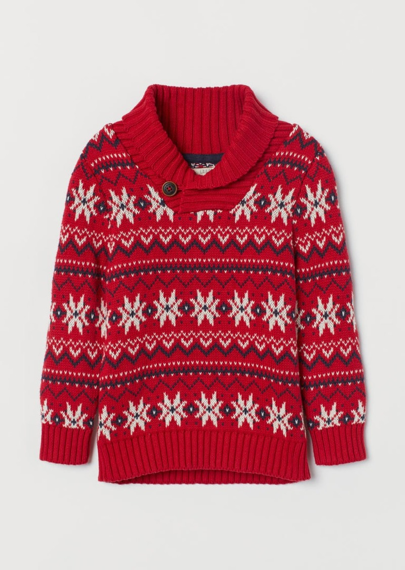 H&M H & M - Knit Sweater - Red