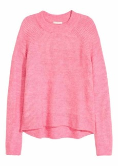 H&M H & M - Knit Sweater - Turquoise - Women