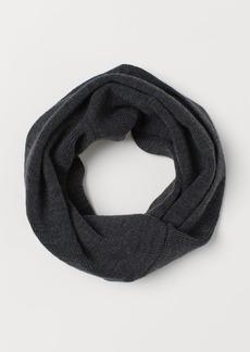 H&M H & M - Knit Tube Scarf - Black