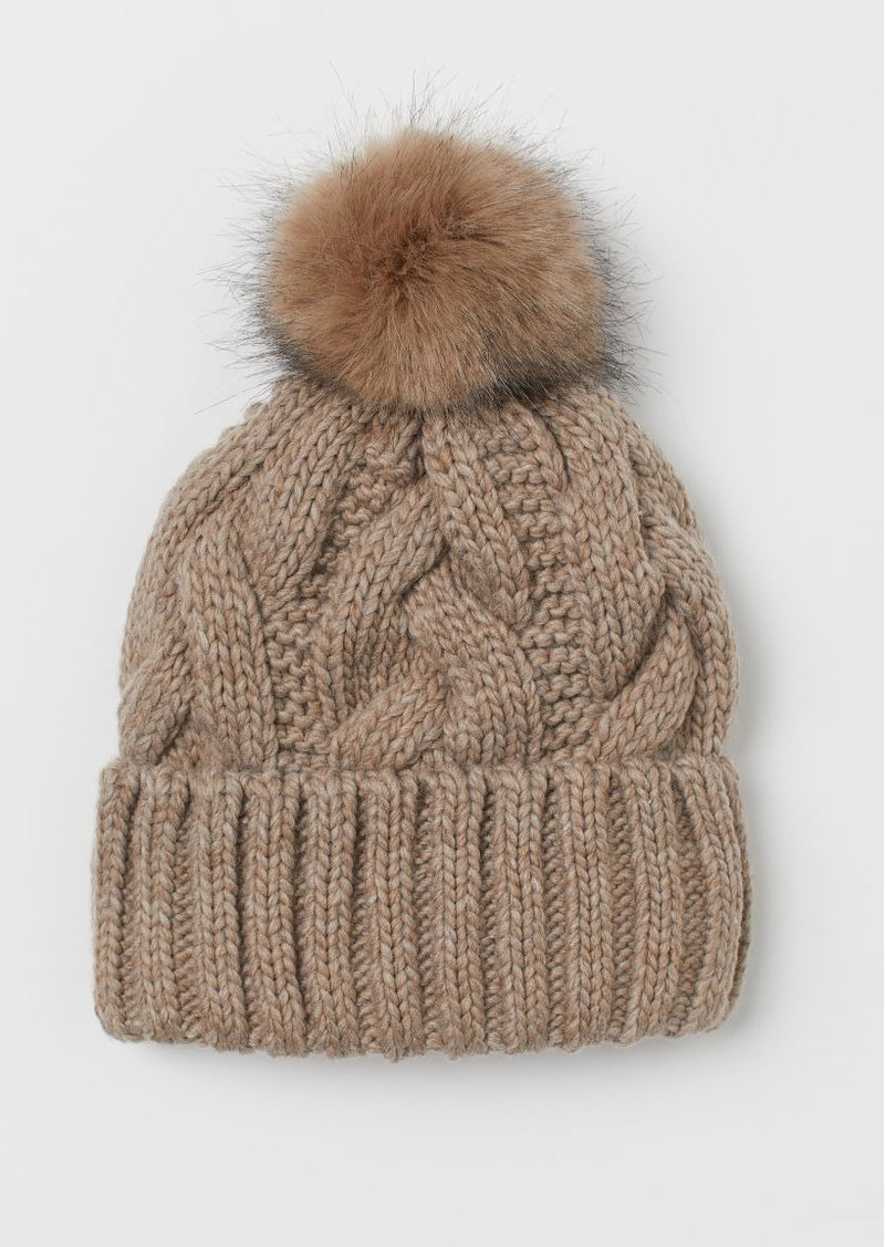 H & M - Knit Hat - Orange