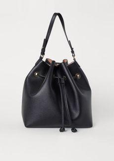 H&M H & M - Large Bucket Bag - Black