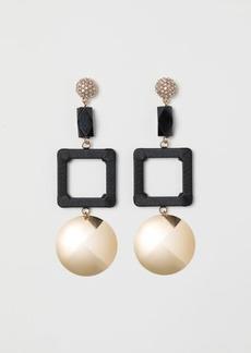 H&M H & M - Large Earrings - Black