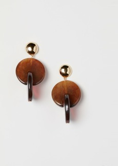 H&M H & M - Large Earrings - Brown