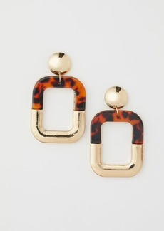H&M H & M - Large Earrings - Gold