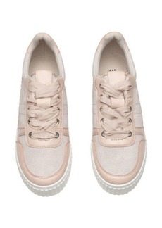 H&M H & M - Leather and Suede Sneakers - Beige