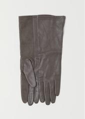 H&M H & M - Leather Gloves - Beige