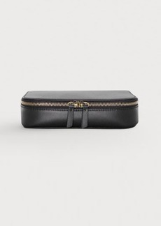 H&M H & M - Leather Makeup Bag - Black