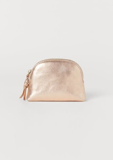 H&M H & M - Leather Makeup Bag - Pink