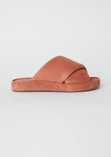 H&M H & M - Leather Sandals - Orange