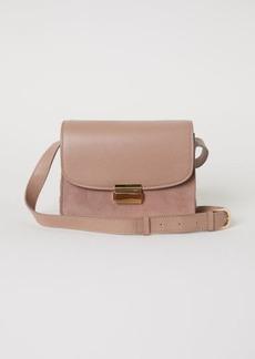 H&M H & M - Leather Shoulder Bag - Beige