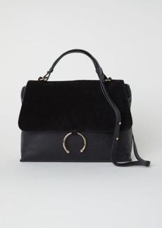 H&M H & M - Leather Shoulder Bag - Black