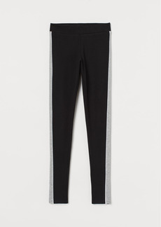 H&M H & M - Leggings - Black