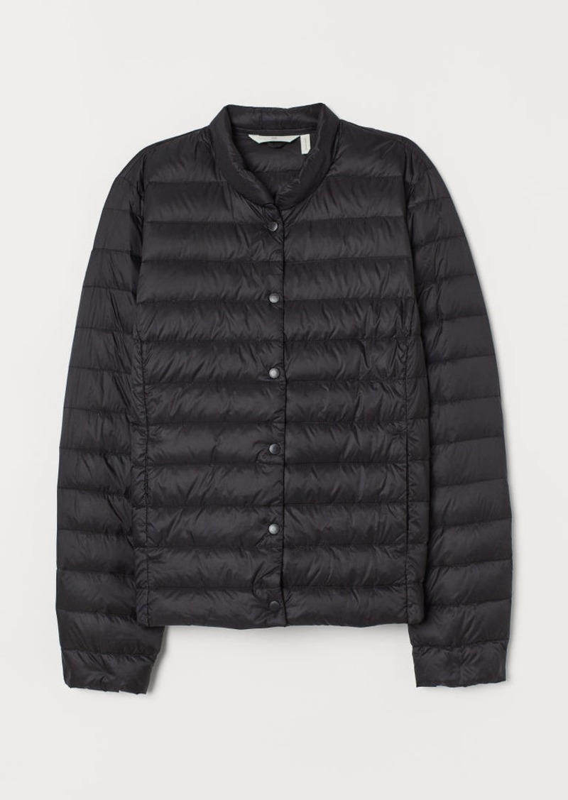 H&M H & M - Lightweight Down Jacket - Black