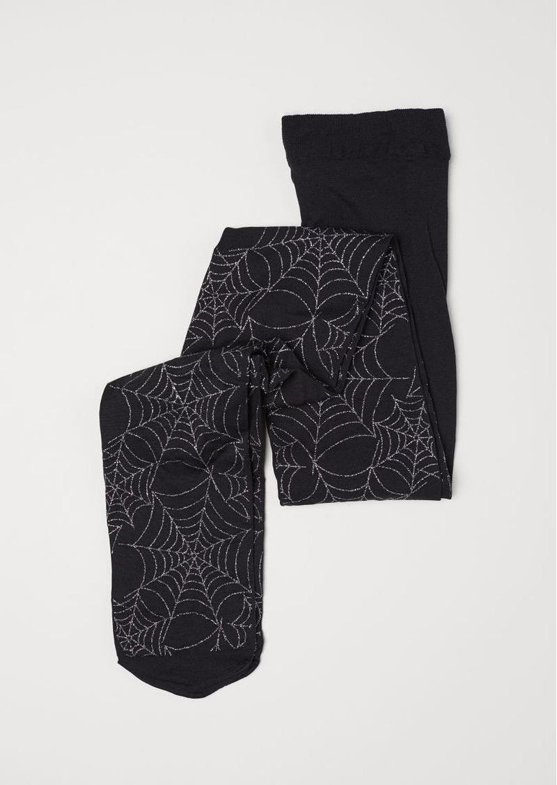 H&M H & M - Lightweight Tights - Black