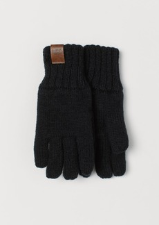 H&M H & M - Lined Gloves - Black