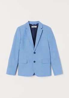H&M H & M - Linen-blend Blazer - Blue