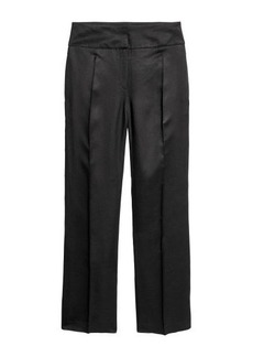 H&M H & M - Linen-blend Suit Pants - Black