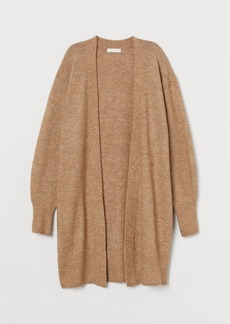 H&M H & M - Long Cardigan - Beige