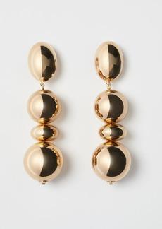 H&M H & M - Long Clip Earrings - Gold