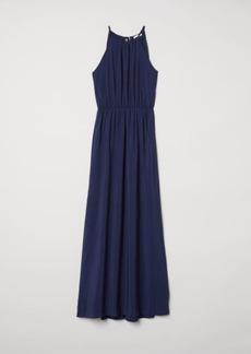 H&M H & M - Long Dress - Blue
